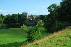 Rickerby Park - dog walk in Cumbria